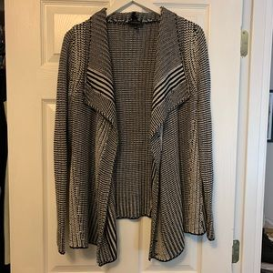 The Limited waterfall loose knit cardigan